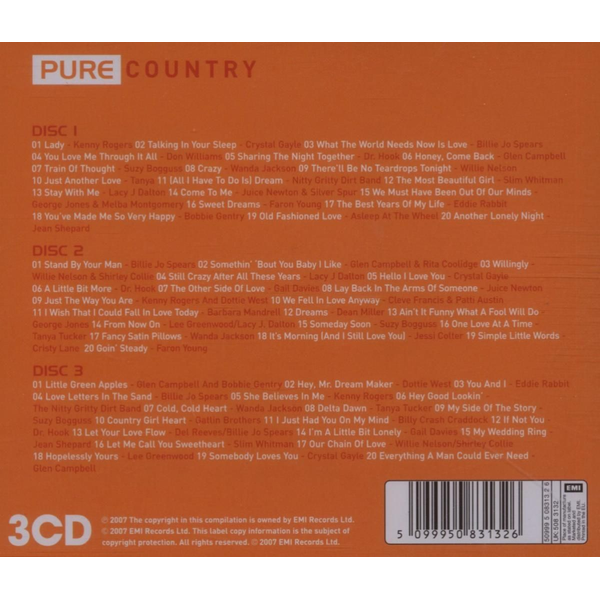 Various - Pure Country [EMI]