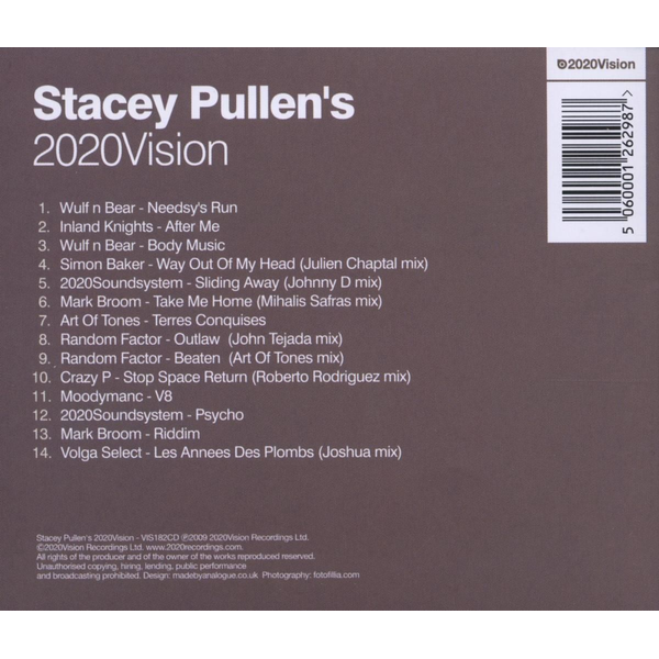 Various - Stacey Pullen's 2020 Vision