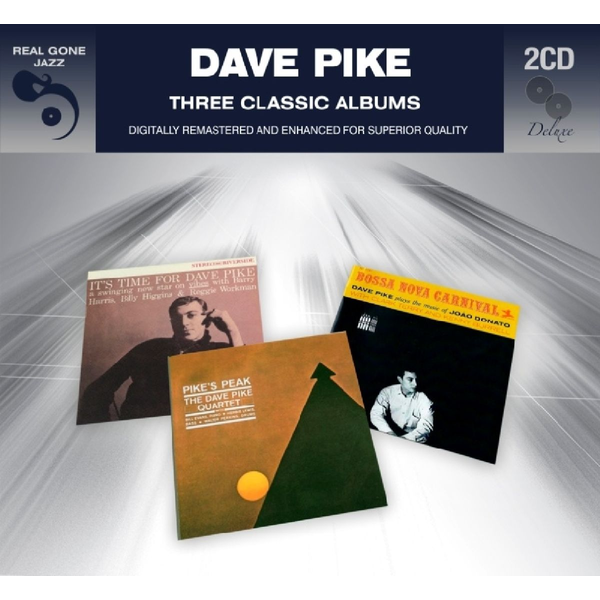 Pike,Dave - 3 Classic Albums