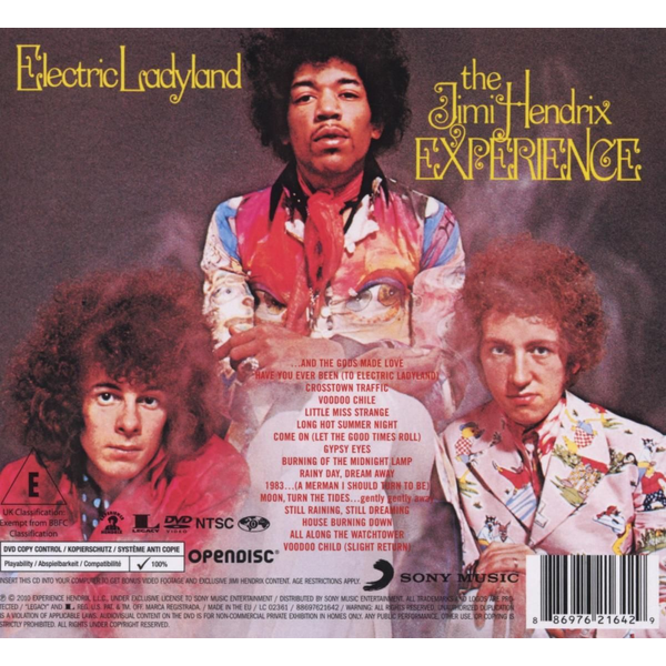 Hendrix,Jimi Experience - Electric Ladyland