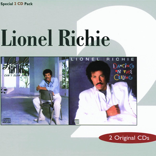 RICHIE,LIONEL - CANT'T SLOW DOWN/DANCING ON TH