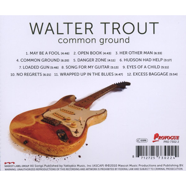 Trout,Walter Common Ground