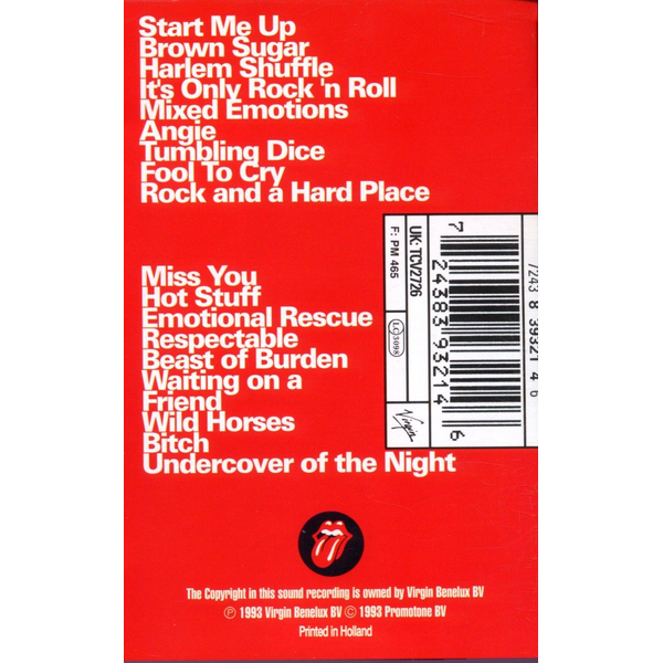 Rolling Stones,The - Jump Back-Best Of Rolling Stones