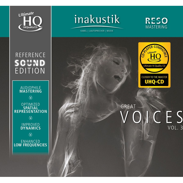 Reference Sound Edition - Great Voices,Vol.3 (U-HQCD)