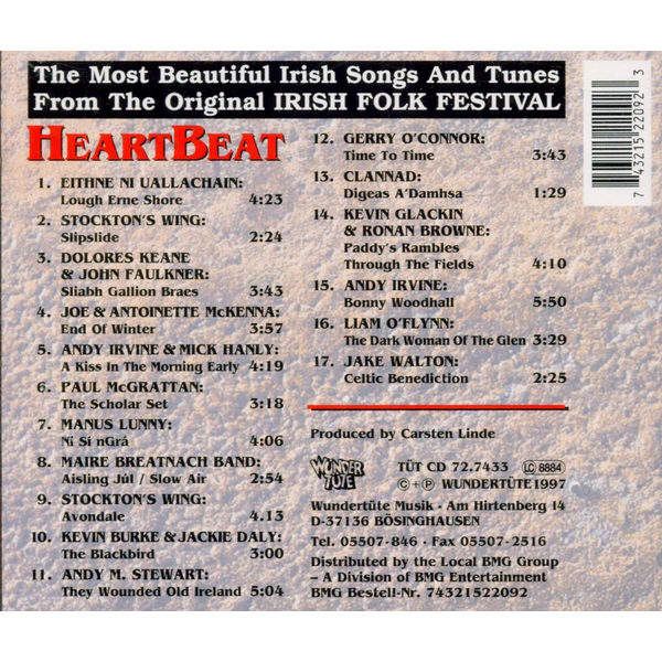 VARIOUS - HEARTBEAT-THE MOST BEAUTIFUL I