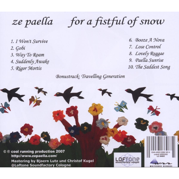 Ze Paella - For a fistful of snow
