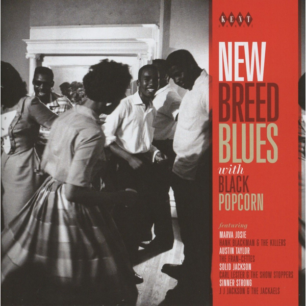 Various - New Breed Blues With Black Popcorn