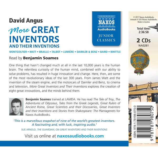 Angus, David - More Great Inventors and their Inventions