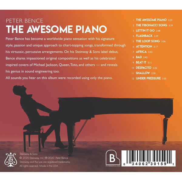 Bence,Peter - The awesome Piano