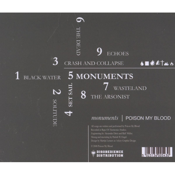 Poison My Blood - Monuments