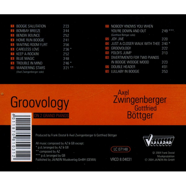 Zwingenberger,Axel - Groovology