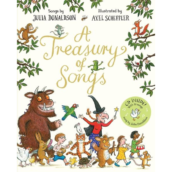 Donaldson, Julia - ISBN A Treasury of Songs book English Paperback 96 pages