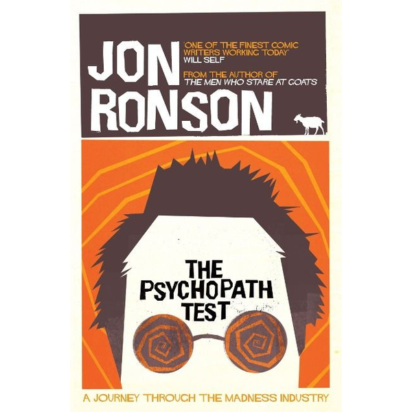 Ronson, Jon - ISBN The Psychopath Test book English Paperback 304 pages