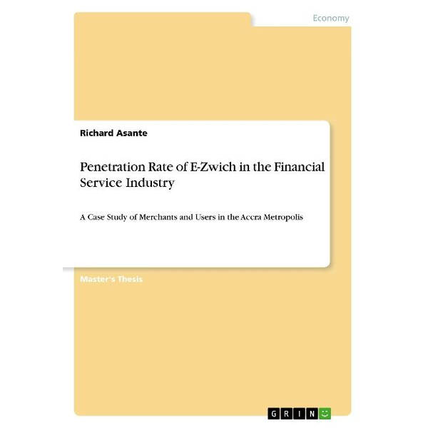 Asante, Richard - Penetration Rate of E-Zwich in the Financial Service Industry