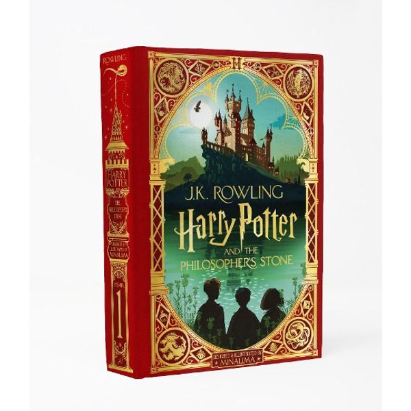 Rowling, Joanne K. - Harry Potter 1 and the Philosopher's Stone. MinaLima Edition