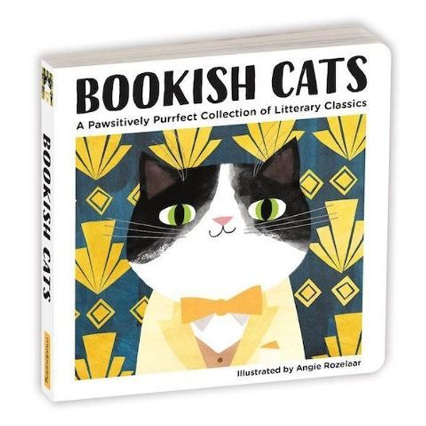 Abrams & Chronicle Books - Bookish Cats Board Book