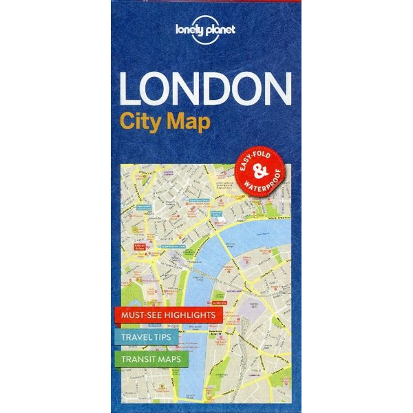 Lonely Planet - Lonely Planet London City Map