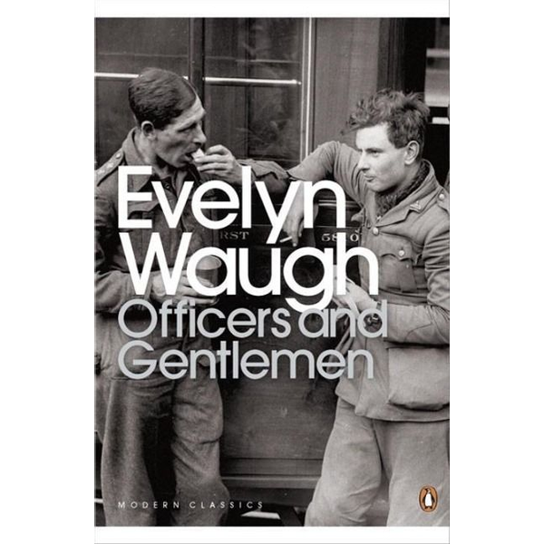 Waugh, Evelyn - Penguin OFFICERS AND GENTLEMEN book English Paperback 256 pages