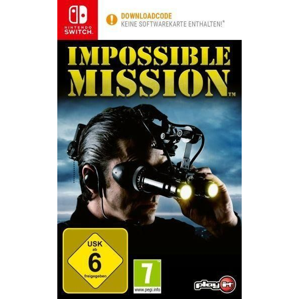 - Impossible Mission (Code in a Box) (Nint. Switch)