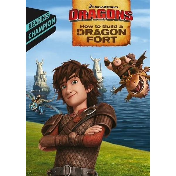 How to Train Your Dragon TV - Hachette UK How to Build a Dragon Fort book English Paperback 32 pages