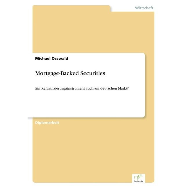 Osswald, Michael - Mortgage-Backed Securities