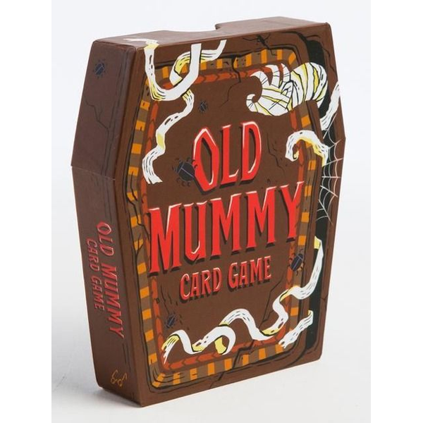 - Old Mummy Card Game: (Spooky Mummy and Monster Playing Cards, Halloween Old Maid Card Game)