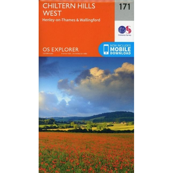 Ordnance Survey - Chiltern Hills West, Henley-on-Thames and Wallingford