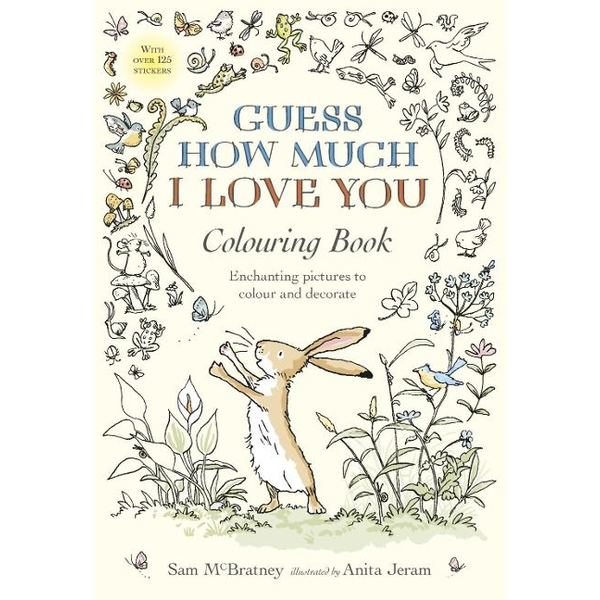 McBratney, Sam - Guess How Much I Love You Colouring Book