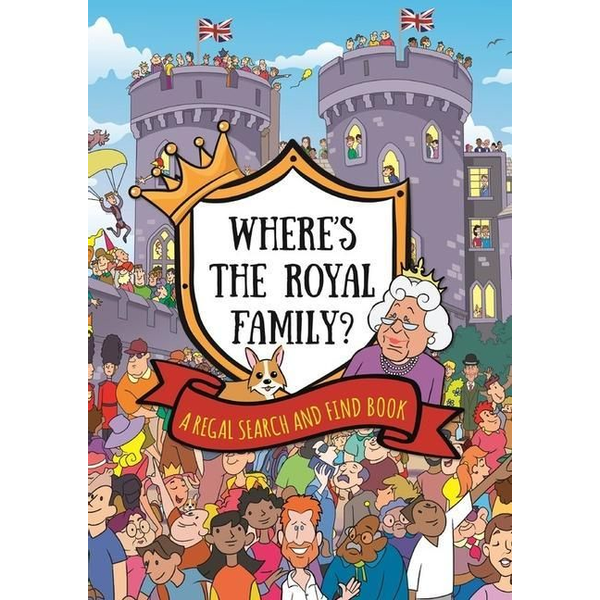 Hachette Children's Group - Where's the Royal Family? A Regal Search and Find Book