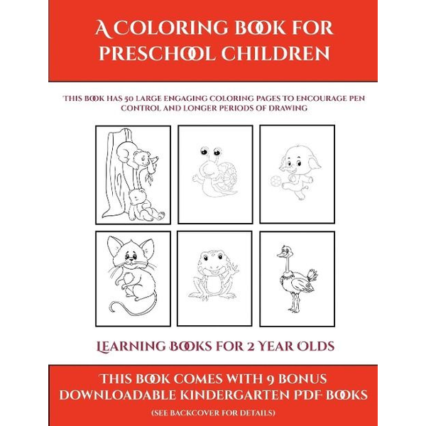 Manning, James - Learning Books for 2 Year Olds (A Coloring book for Preschool Children)