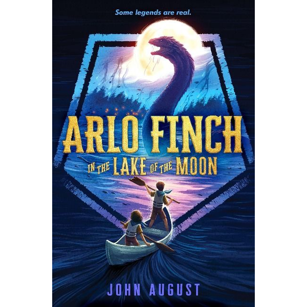August, John - Arlo Finch in the Lake of the Moon