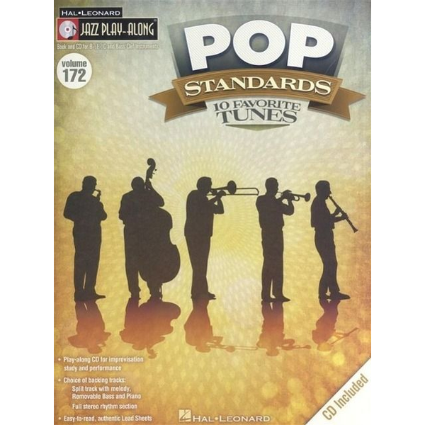 - Pop Standards: Jazz Play-Along Volume 172 [With CD (Audio)]