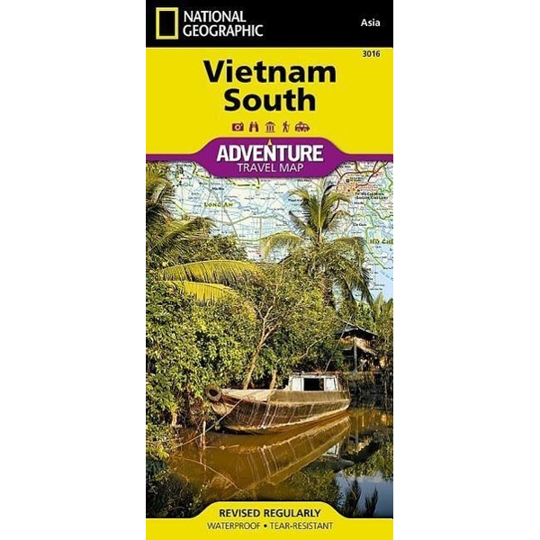 National Geographic Maps - Vietnam South