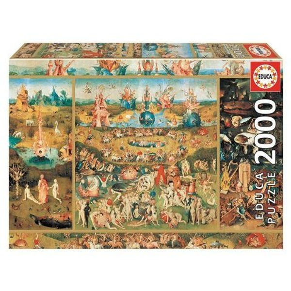 - Educa Puzzle - The garden of delights 2000 Teile