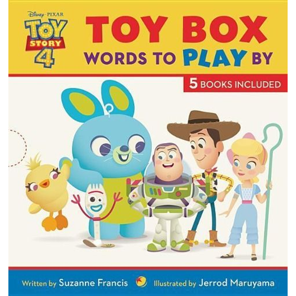 Francis, Suzanne - Toy Story 4 Toy Box: Words to Play by