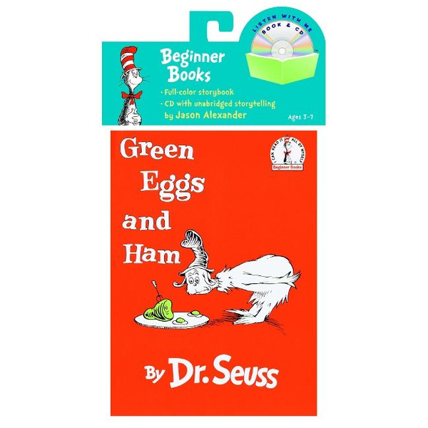 Dr Seuss - Green Eggs and Ham with CD