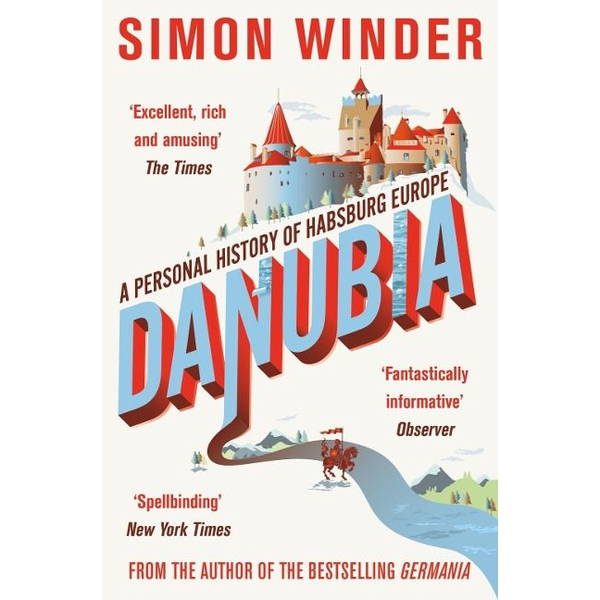 Winder, Simon ISBN Danubia book English Paperback 464 pages