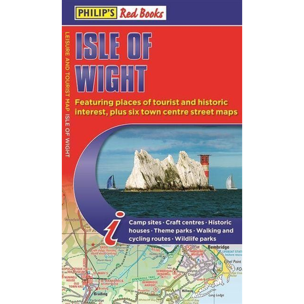 Philip's Maps - Philip's Red Books Isle of Wight Map