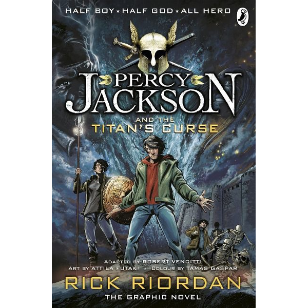 Riordan, Rick - Percy Jackson and the Titan's Curse: The Graphic Novel