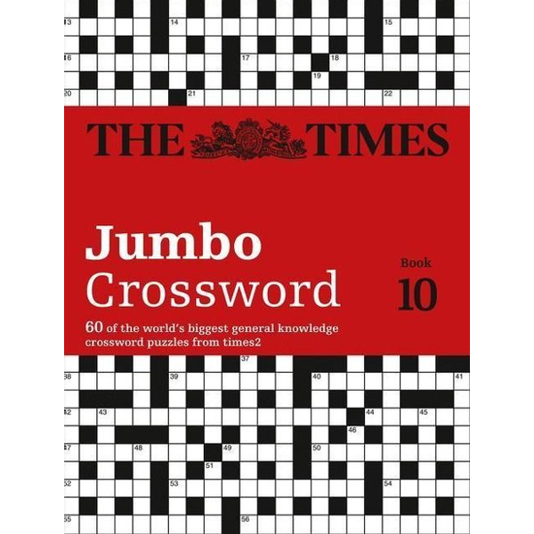 The Times Mind Games - The Times 2 Jumbo Crossword Book 10
