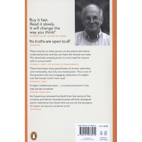 Kahneman, Daniel - ISBN 9780141033570 book Reference & languages English Paperback 512 pages