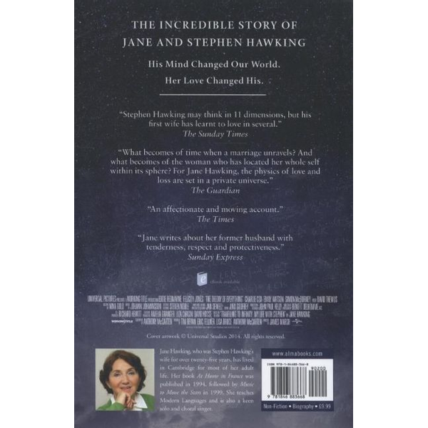 Hawking, Jane - ISBN Travelling to Infinity (The True Story Behind the Theory of Everything)