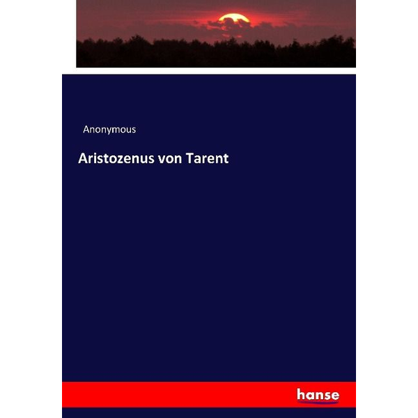 Anonymous - Aristozenus von Tarent
