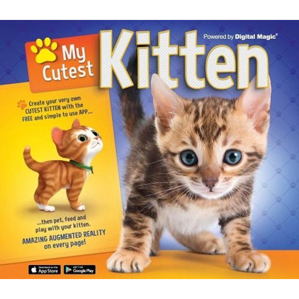 Woodward, Kay - ISBN My Cutest Kitten book Hardcover 32 pages