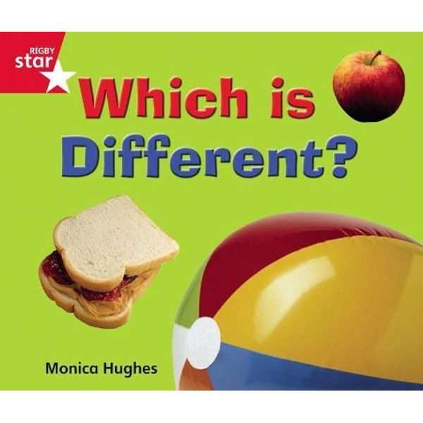 Pearson ELT - Rigby Star Guided Quest Red: Red Level:  Which Is Different?