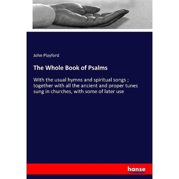 Playford, John - The Whole Book of Psalms
