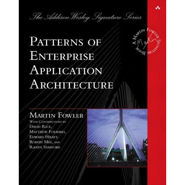Fowler, Martin - Pearson Education Patterns of Enterprise Application Architecture software manual English 533 pages