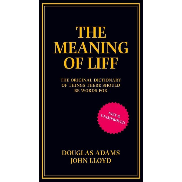 Adams, Douglas - ISBN The Meaning of Liff book English Hardcover 240 pages