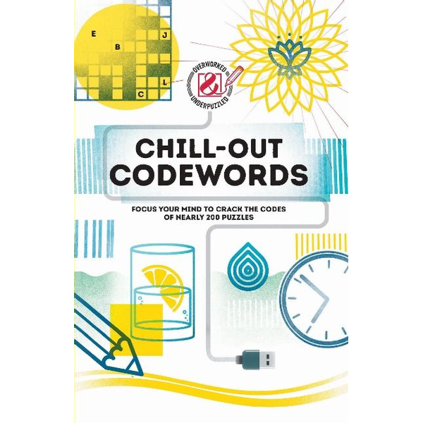 The Puzzle People - ISBN Chill-out Codewords book Paperback 224 pages