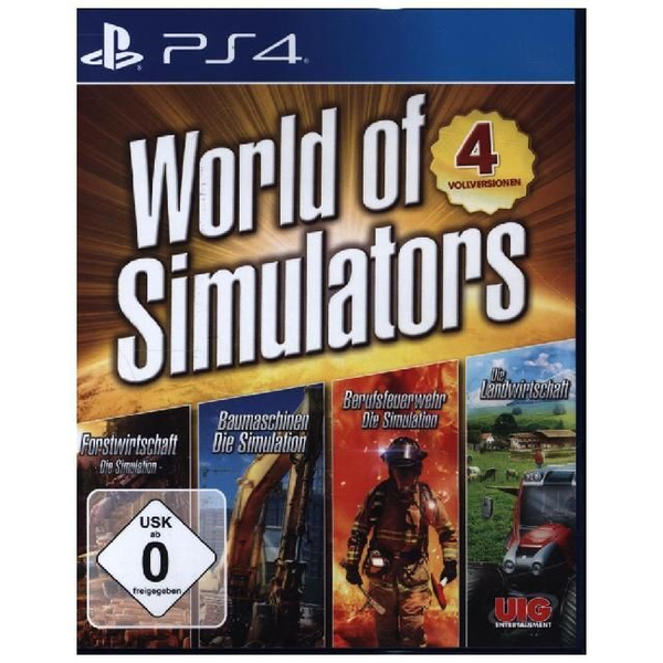 IRIDIUM MEDIA GROUP GmbH - World of Simulators 4 Games (PlayStation PS4)